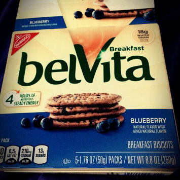 belVita Breakfast Biscuits 5 Pack Blueberry Breakfast Biscuits uploaded by Irene H.