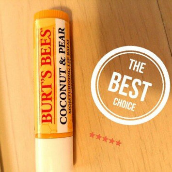 Photo of Burt's Bees Coconut & Pear Lip Balm uploaded by Marielle P.