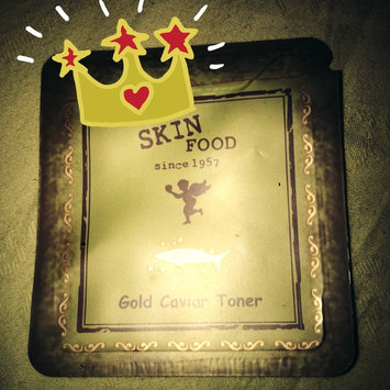 Photo of Skin Food Gold Caviar Toner 145ml uploaded by Cassie *.