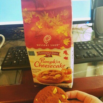 Photo of Pepperidge Farm® Dessert Shop™ Pumkin Cheesecake Soft Dessert Cookies uploaded by Christina K.