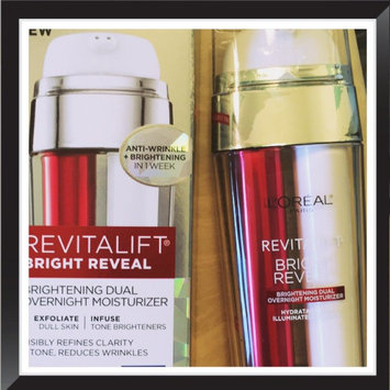 L'Oréal Paris Revitalift Bright Reveal Brightening Dual Overnight Moisturizer uploaded by Heather A.