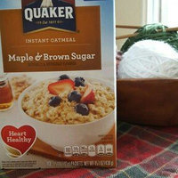 Quaker Instant Oatmeal Maple & Brown Sugar - 10 CT uploaded by Julie W.