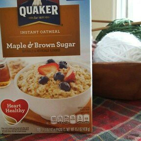 Photo of Quaker® Instant Oatmeal Cups Maple & Brown Sugar uploaded by Julie W.