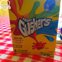 Betty Crocker Fruit Gushers Assorted Fruit Flavored Snacks uploaded by veronica n.