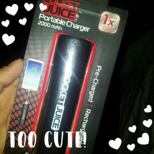 Photo of Pocket Juice 2,000mAh Solo Power Bank, Black uploaded by GISSELL CAROLINA V.