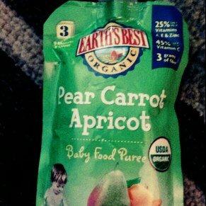Earth's Best Organic Fruit & Veggie Puree uploaded by kim b.