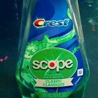 Crest Plus Scope Classic Mouthwash, Mint, 16.9 oz uploaded by Cashmera a.