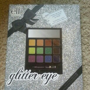 Eyes E.L.F Beauty Book Glitter Eye Makeup Holiday Edition uploaded by Kaitlyn M.