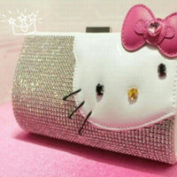 Hello Kitty Funky Divas Wallet Coin Purse Card Case Bag uploaded by Tracelle N.