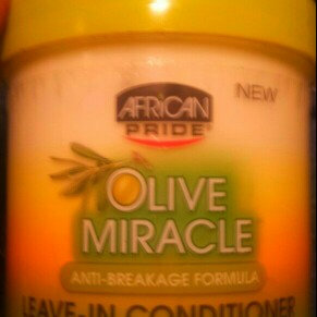 African Pride Olive Miracle Leave-In Conditioner uploaded by Taliyah T.