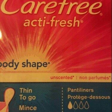 Carefree Body Shape Pantiliners, Thin, 60 ea uploaded by Katara M.
