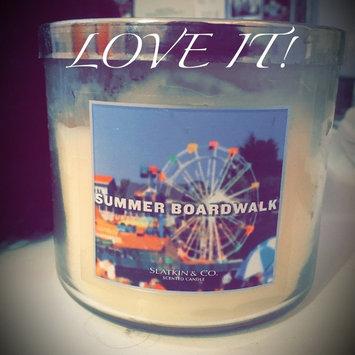 Bath & Body Works 1 X Slatkin & Co. 14.5 Oz. 3-wick Candle Summer Boardwalk uploaded by member-4365470d3