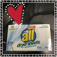All Free & Clear Dryer Sheets 230 ct uploaded by Heather L.