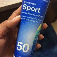Walgreens Sport SPF 50 Sunscreen Lotion uploaded by Apurva s.