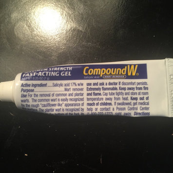 Compound W Wart Remover Fast Acting Gel uploaded by amy j.