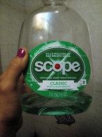 Scope Classic Original Mint Flavor Mouthwash 1.5L Bottle uploaded by Lidia Z.