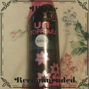 Photo of Febreze Unstopables™ Shimmer Air Refresher 9.7 oz. Aerosol Can uploaded by Quincey H.