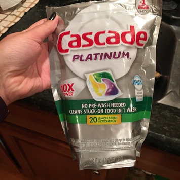 Photo of Cascade® Platinum™ ActionPacs™ with the Power of Clorox® Fresh Scent uploaded by Deise C.