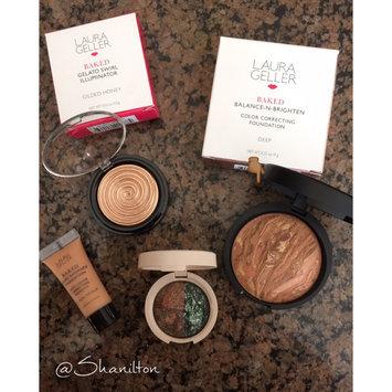 Laura Geller Beauty Baked Color Correcting Foundation, Deep, .32 oz uploaded by Shanilton J.