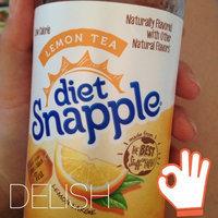 Diet Snapple® Lemon Tea 20 fl. oz. Plastic Bottle uploaded by Madison I.