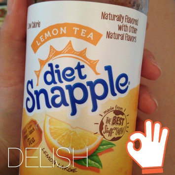 Photo of Diet Snapple® Lemon Tea 20 fl. oz. Plastic Bottle uploaded by Madison I.