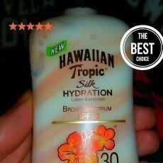 Hawaiian Tropic Silk Hydration Lotion Sunscreen image uploaded by Nicole F.