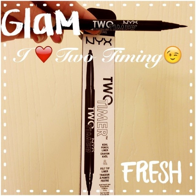 NYX Cosmetics Two Timer Dual Ended Eyeliner uploaded by Jessica D.