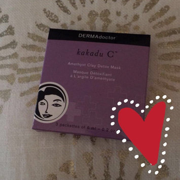 Photo of DERMAdoctor Kakadu C Amethyst Clay Detox Mask uploaded by Cayleigh C.