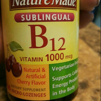 Nature Made B-12 Vitamin 1000mcg Micro-Lozenges Cherry Flavor - 50 CT uploaded by Fran M.