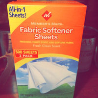 Member's Mark Fabric Softener Sheets - Sunshine Fresh Clean Scent - 500 ct. uploaded by Jessica D.