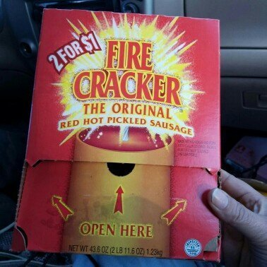 ConAgra Foods PENROSE FIRE CRACKER SAUSAGE 50CT BOX uploaded by Brooklyn D.
