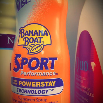 Photo of Banana Boat Sport UltraMist Sunscreen SPF 50 uploaded by leah R.