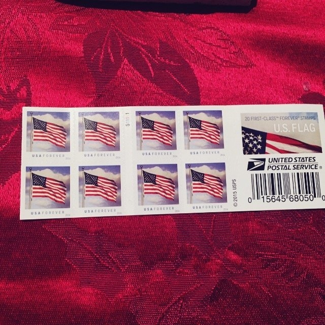 USPS Forever First Class Postage Stamps uploaded by Debra v.