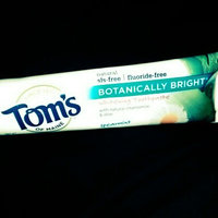 Tom's OF MAINE Spearmint Fluoride-Free Botanically Bright® Toothpaste uploaded by Tara W.