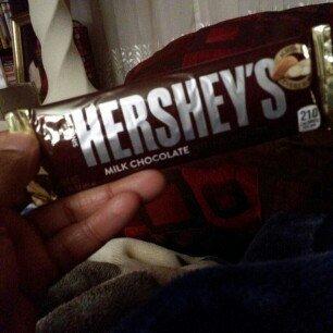 Hershey's  Milk Chocolate with Almonds uploaded by Tomeka M.