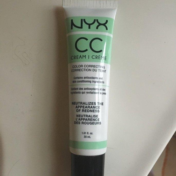 NYX CC Cream - Green Light/Medium uploaded by Kayla H.