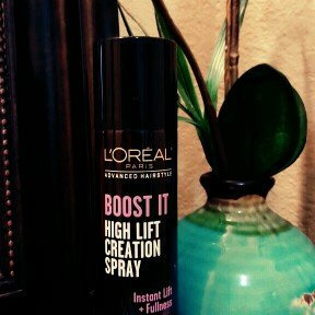 Photo of L'Oréal Paris Advanced Hairstyle BOOST IT High Lift Creation Spray uploaded by Salina G.