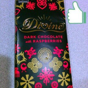Photo of Divine Chocolate 70% Dark Chocolate with Raspberries uploaded by Carmel A.