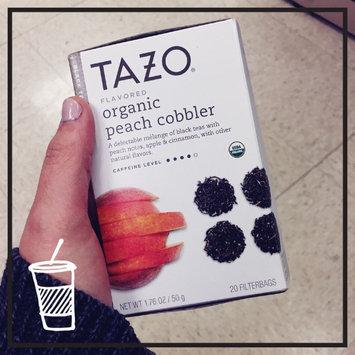 Photo of Tazo Organic Peach Cobbler Black Tea uploaded by Emily Y.