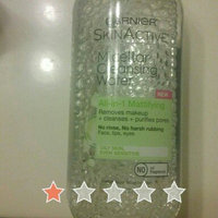 Garnier Skin Skinactive Micellar Cleansing Water All-In-1 Cleanser and Waterproof Makeup Remover uploaded by Nancy R.