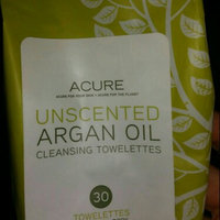 Acure Organics Unscented Argan Oil Cleansing Towelettes for Face & Body, 30 ea uploaded by Dena B.