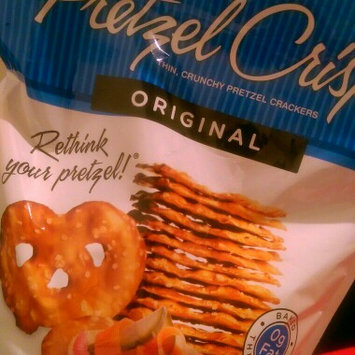 Pretzel Crisps® Original Pretzel Crackers 11.25 oz. Bag uploaded by Jayne E.
