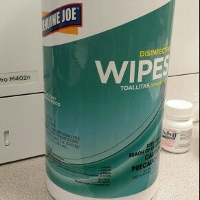 Photo of Genuine Joe GJO14141EA Disinfecting Scented Cleaning Wipes Pack of 80 uploaded by Sandra S.