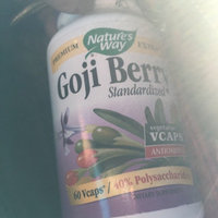 tures Way Goji Berry Standardized by Nature's Way - 60 Vegetarian Capsules uploaded by Lucy L.