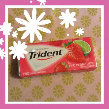Photo of Trident Island Berry Lime Sugar Free Gum uploaded by Autumn G.