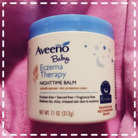 Aveeno Baby® Eczema Therapy Nighttime Balm Skin Protectant Cream 11 oz. Plastic Tub uploaded by Anais S.