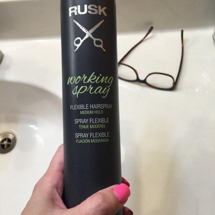 RUSK Working Spray - 10 oz. uploaded by Noelle W.