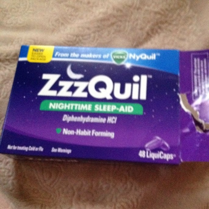 ZzzQuil Nighttime Sleep-Aid Liquid, Warming Berry uploaded by Crystal M.