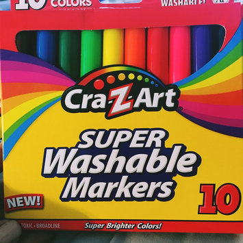 Photo of Cra-z-art Corporation Cra-z-Art Washable Markers Classic 10CT(Case of 12) uploaded by Nancy C.