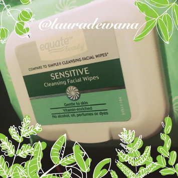 Photo of Equate sensitive skin facial wipes uploaded by Laura W.